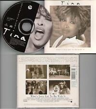 Tina Turner ‎– What's Love Got To Do With It CD Album 1993