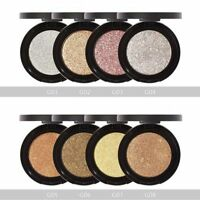 Sale Makeup Pearl Shining Glitter Blusher Highlight Eyeshadow Powder