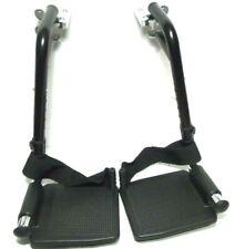 Invacare Swing away Leg rest W/Heel Loops,Footplate for Pronto Series Wheelchair