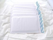 100 Pearl White 4x8 Kraft Bubble Mailers, Wholesale Padded Shipping Envelopes