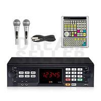 TJ Taijin Media TKR-355HK Korea Korean Karaoke Machine System +2 Mic+ Big Remote