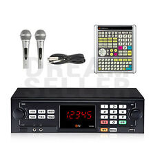 TJ Taijin Media TKR-355HK Korea Korean Karaoke Machine System +2 Mic+ Big Remote