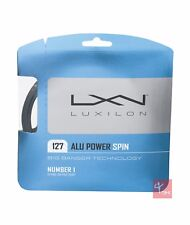 Luxilon BIG BANGER Alu Power Spin 127 Tennis Stringa Set - 1.27 MM-ARGENTO