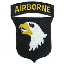 101st Airborne Screaming Eagles Patch - White Tongue - WW2 Repro Badge Uniform