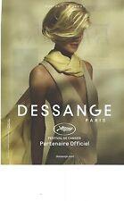 PUBLICITE 2012   JACQUES DESSANGE coiffeur officiel du festival de Cannes 2012