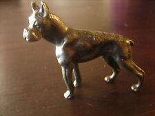 feine Künstler Bronze Miniatur Boxer oder Deutsche Dogge ?