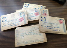 100+ UNITED STATES 1930'S POSTAGE DUE REPLY CARDS ALBANY, NY SC# J81 HOIT CORP.