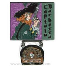 Disney Pin The Legend Lives On Captain Barbossa Pin