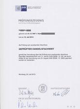 Handelsfachwirt IHK Präsentation mündliche Prüfung & Handout Handelsmarketing