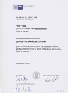Handelsfachwirt IHK Präsentation mündliche Prüfung & Handout Handelsmarketing .