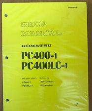Komatsu PC400-1 PC400LC-1 shop manual
