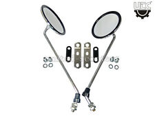Vespa PX125 PX150 Stella Side Mirror Chrome 13 Inch Long Rod With Clamps P3015