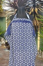 Cool Embroidery-LARGE-100% cotton-Breastfeeding/Bottle feeding cover/ apron/GIFT