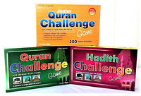 SPECIAL OFFER: Quran + Junior + Hadith Challenge Board Games -  Set of 3