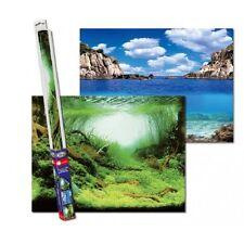 Aqua Nova Fotorückwand Plants / Ocean XL Poster Rückwand 150x60cm Deko Aquarium