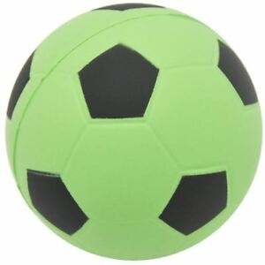 My K@waii $quishies Sports Ball SOCCER FREE SHIPPING SLOW RISING 3IN GREEN/BLACK
