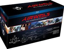 AIRWOLF 1-4 DIE KOMPLETTE SERIE 1 2 3 4 BLU-RAY BOX SET  DEUTSCH