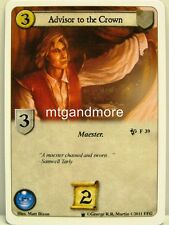 A Game of Thrones LCG - 1x advisor to the Crown #039 - continente occidentale Draft Pack