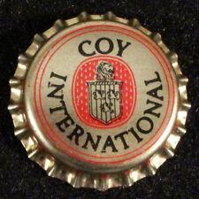 COY INTERNATIONAL PLASTIC BEER BOTTLE CAP DIXIE NEW ORLEANS LOUISIANA CROWN NOLA