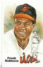Frank Robinson Perez-Steele Hall of Fame Art Postcard 1966 Triple Crown #180