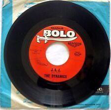 "The Dynamics J.A.J. / AT THE MARDI GRAS 1962 45rpm 7"" Bolo 45-730 Jimmy Hanna"