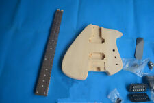 Semi-Finished Headless Electric Guitar Basswood Body Without Paint B bridge