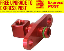 Aeroflow Fuel Rail Adapter (Red) Suit Mitsubishi EVO 10 with 40mm Centres