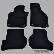 Weltpreise Velours Auto Fußmatten für VW Golf VI 6 Plus ab Bj. 2007 - 2014 rund