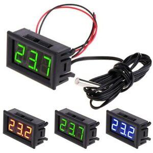 DC 12V LED Digital Display Thermometer -50~ 110°C Car Meter Temperature Vehicle