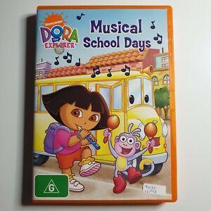 Dora the Explorer: Musical School Days   Children's DVD   2009   Nickelodeon