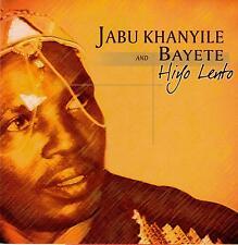 Jabu Khanyile & Bayete-Hiyo Lento-CD-2005 Heita! South African issue-CDHEITA003