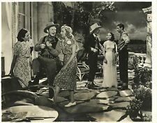 """MERLE OBERON & GARY COOPER in """"The Cowboy and the Lady"""" Original Vintage 1938"""