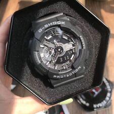 NEW G-Shock Black 55mm Black Dial Chronograph Men's Watch GA110-1B