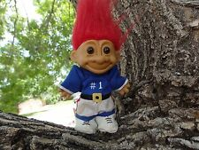 RUSS TROLL DOLL FOOTBALL PLAYER WITH #1 UNIFORM