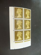 GB. Specialised Machin. Cylinder Block. SG 724. Cyl No.2Dot.  MNH.