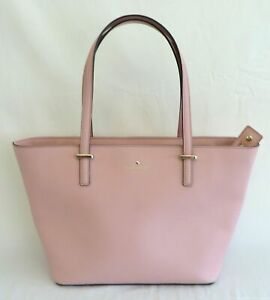 Kate Spade Pink Saffiano Leather Tote Purse