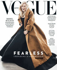 Vogue Australia Magazine June 2018 Rebel Wilson Fearless Inspiring a Generation