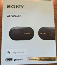 Sony WF-1000XM3 Wireless In-Ear Headphones - Black