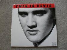 Elvis Presley This is Elvis Mint 2 LP G/F Rock n Roll Rock Pop Singer new
