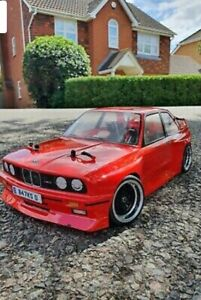 Rc Shell Bmw M3 1:10 Nitro Body ONLY very Clean And Tidy Hpi Acme