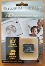 NEW Fujifilm 512 MB xD-Picture Card Card Type M NEW RETAIL SEALED