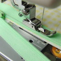 Nähmaschinen-Nähfuß mit Reißverschluss, niedrige Schnalle SO