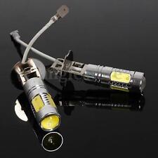 2x High Power Super Bright White H3 7.5W For Fog Driving DRL LED Light Bulb Lamp