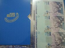 Willie: Rm1 uncut 3 in 1 in folder malaysia 2 sets Running Number