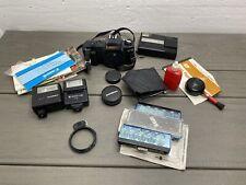 Vintage Camera And Accessories Parts/Repair Lot Canon T50 Kodak Teledisc  Flash