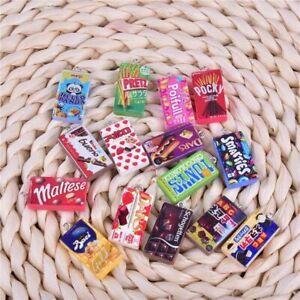 10pcs/30pcs/pack Chocolate Resin Charms Sweet Cookies Pendant Charm Jewelry Maki