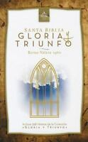 Biblia Gloria y Triunfo Reina Valera 1960 TAPA DURA Nueva