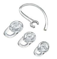 Earbud Gel & Ear Hook for Plantronics, (Small/Medium/Large) Clear Replacement