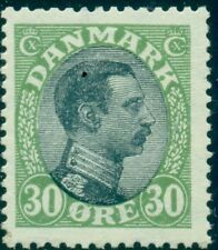 Denmark #111 (145) 30ore Chr. X, og, Nh, Vf, Scott $95.00