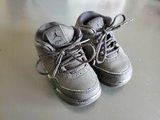 Jordan Toddler Shoes 5 C Solid Black 705162 004 lace up tennis shoes sneakers